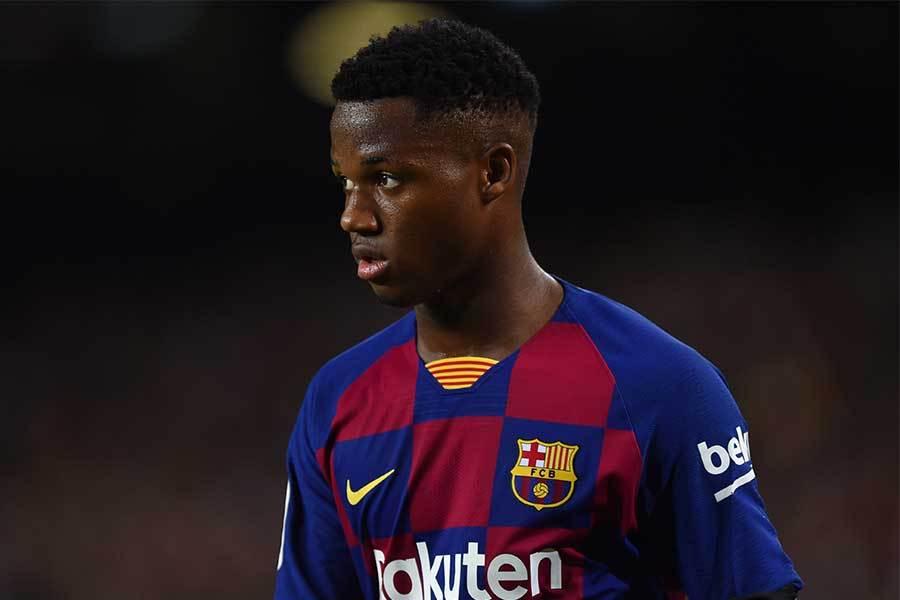 スペインサッカー連盟 バルサ16歳ギニアビサウ出身の新星ファティを代表招致へ!