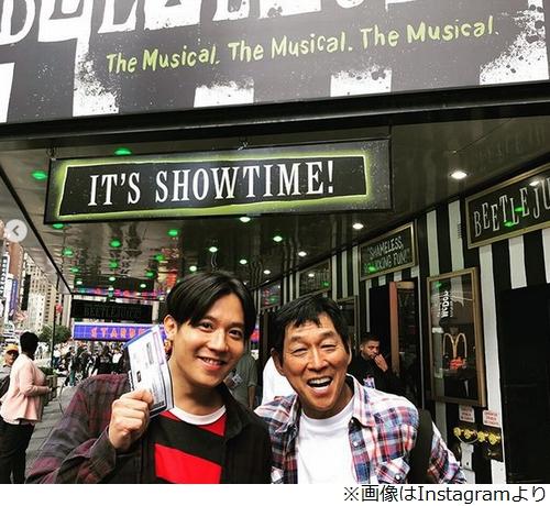小出恵介 インスタで 明石家さんま とニューヨークで2ショット 降板劇から2年