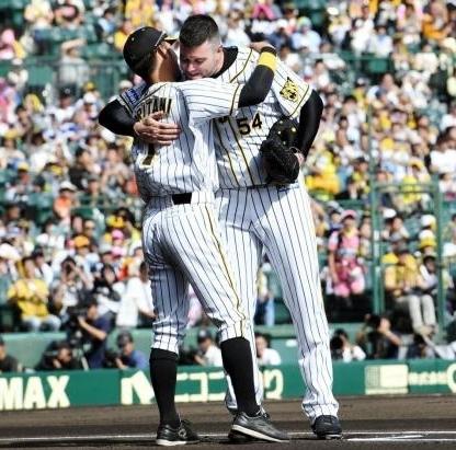 阪神 メッセンジャー が引退試合 最後は中日・大島に146km直球で三振