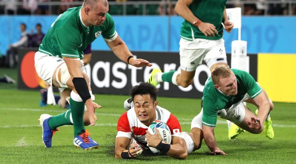 ラグビーW杯 日本 アイルランド に勝利!またまたジャイアントキリング!