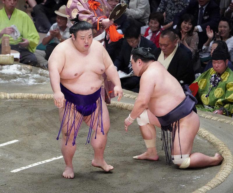 大相撲 九月場所 十二日目 貴景勝10勝大関復帰!明生敗れ3敗