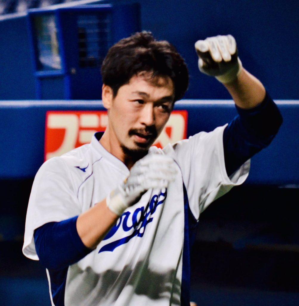 【野球】中日 阿部寿樹(29) 稲刈りをするために岩手に帰省 今季セ10位の打率.291 7HR 59打点