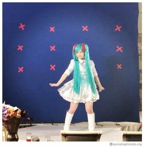 橋本環奈 「初音ミク」のコスプレで踊る動画投稿 「癒やししかない」「リアル初音ミク」と反響