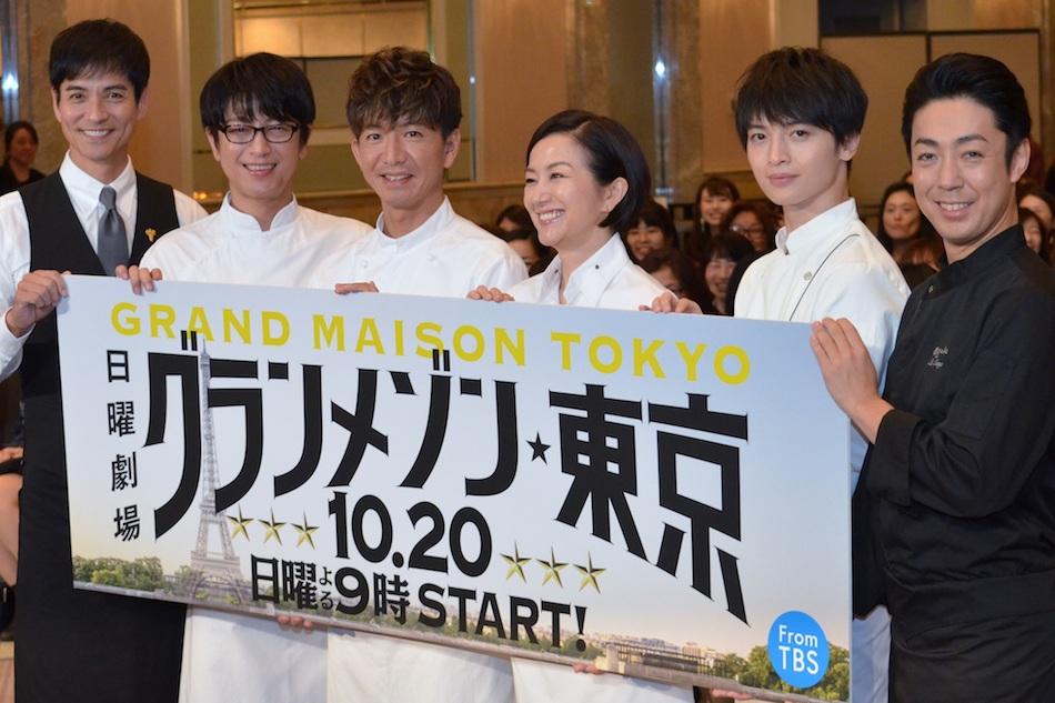 【視聴率】キムタク主演日曜劇場「グランメゾン東京」第2話13・2%、初回上回る