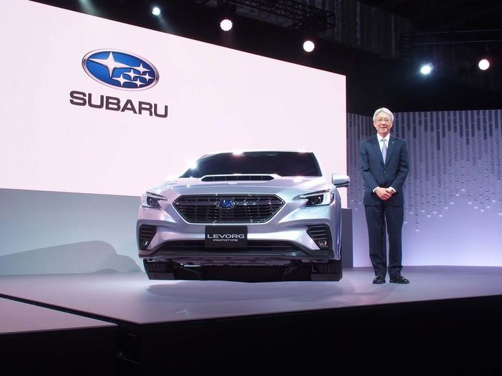 レヴォーグ スポーツワゴン が世代交代 スバルは新型のプロトタイプを世界初公開 東京モーターショー2019