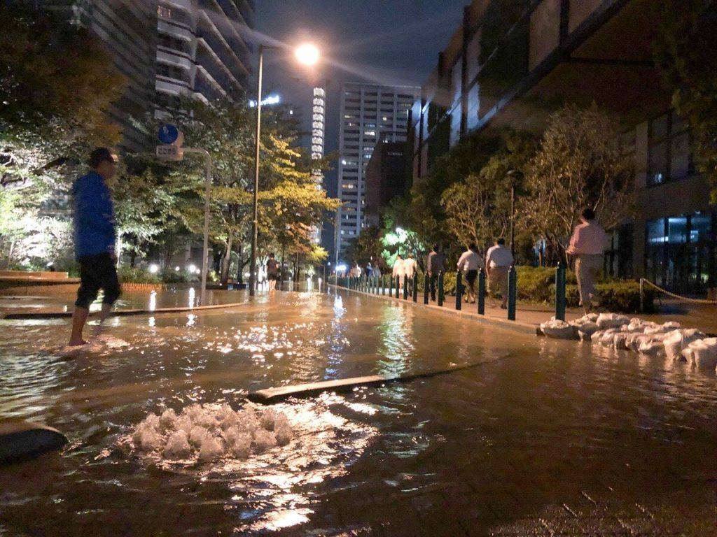 武蔵小杉 冠水 ネットでは溢れた水が汚水だと決めつけられタワマン住民は不快感