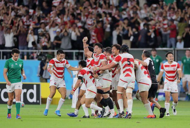 ラグビー  日本が過去最高6位浮上 ラグビー世界ランク
