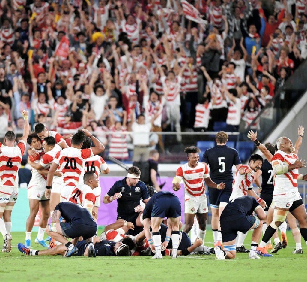 【視聴率】ラグビー W杯 日本×南アフリカ 41・6% 瞬間 49・1%