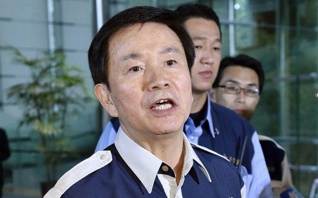 森田健作 千葉県 知事 台風被害の最中に「公用車で別荘」疑惑が浮上