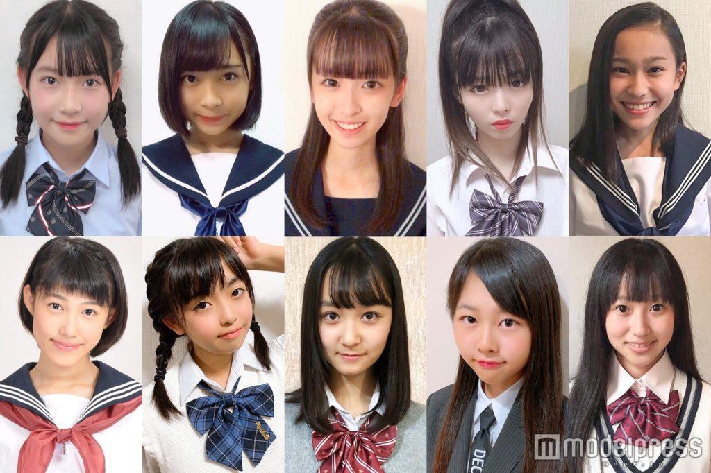 【JC】「日本一かわいい女子中学生」 ファイナリスト10人が決定!