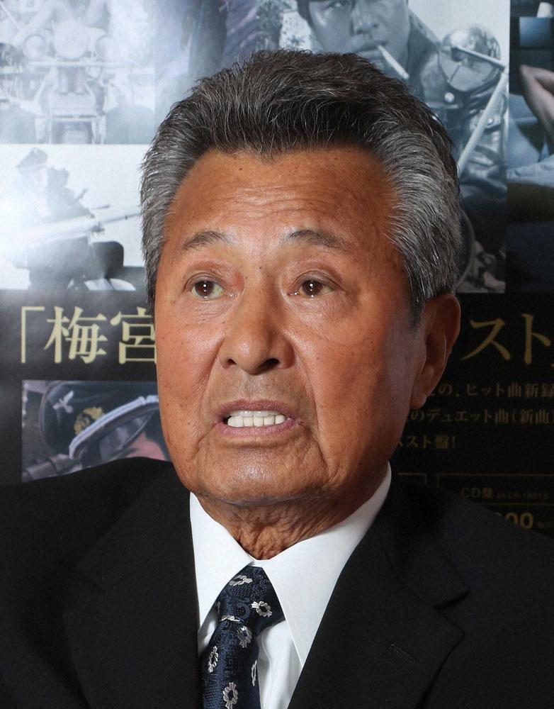 【訃報】梅宮辰夫 さん 死去  81歳 慢性腎不全で